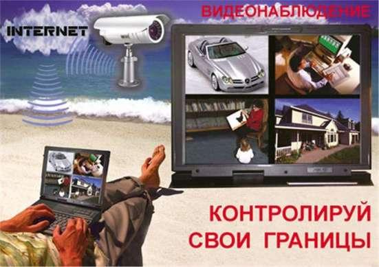 Видеонаблюдение в Красноярске, видеодомофоны, электрозамки/ Фото 4