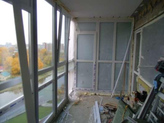 Утепление. остекление теплые лоджии, витражи. балконы в Екатеринбурге Фото 5