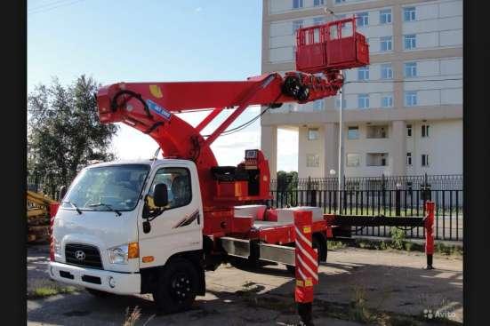 Аренда автовышки 20-26 метров в Екатеринбурге Фото 1