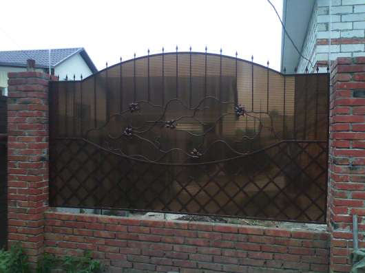 кованый забор, ворота, лестницы, перила... в Саратове Фото 2