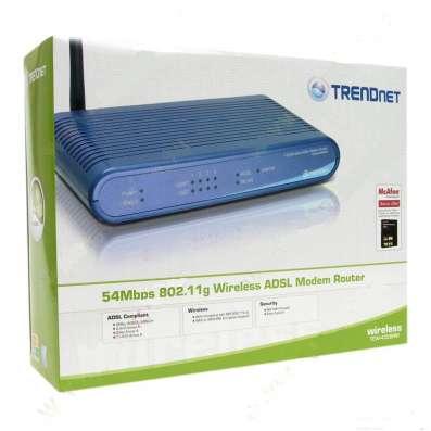 ADSL Wi-Fi роутер Trendnet TEW-435BRM
