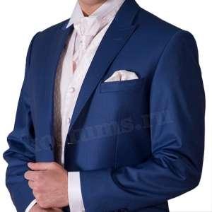 мужской классический костюм 48-50 синий прокат в Перми Фото 2