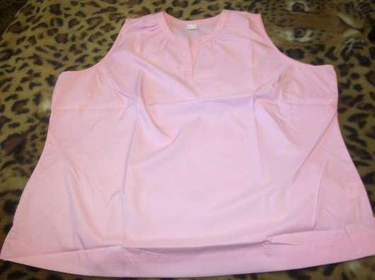Розовый топ большого размера по журналу WITT