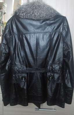 кожаная куртка с мехом ISNOVA в Перми Фото 3
