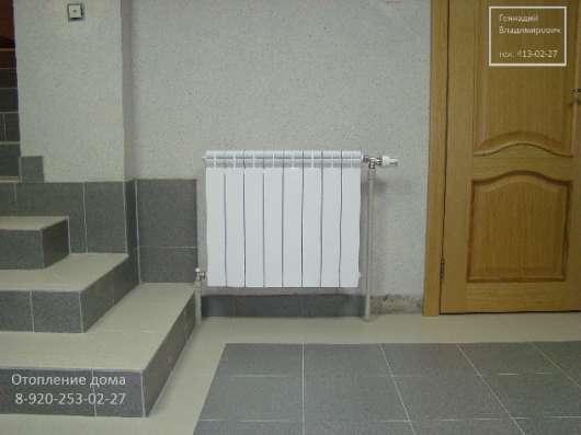 Отопление частого дома коттеджа, тёплый пол.Проект. в Нижнем Новгороде Фото 2