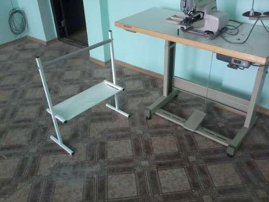 Раскройные столы.Швейное оборудование.