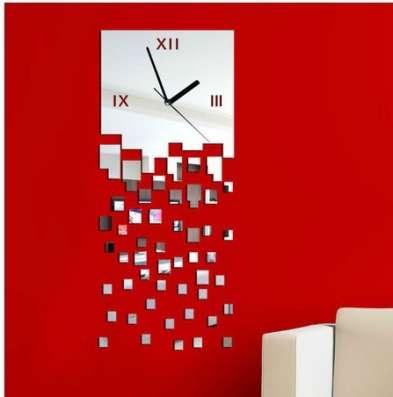 Зеркальные настенные часы в Кемерове Фото 5