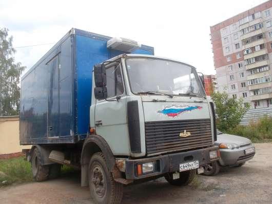 маз5337 термобудка.апарель.31куб 23 палет.2001г в. в Новосибирске Фото 4