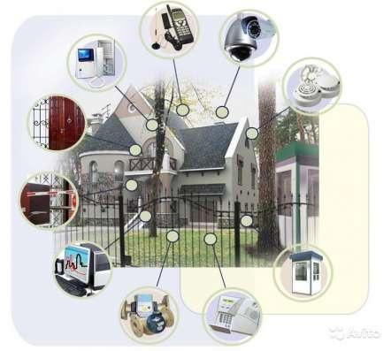 Монтаж систем видеонаблюдения, домофонов. Корея в Москве Фото 1