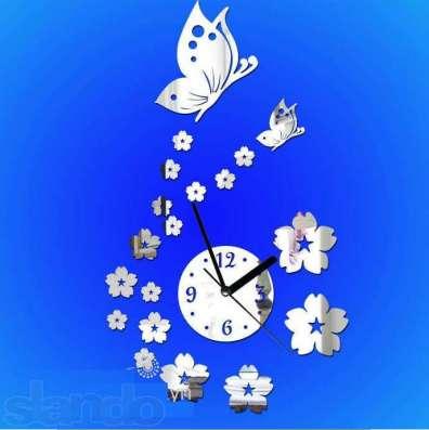 Зеркальные настенные часы в Кемерове Фото 6