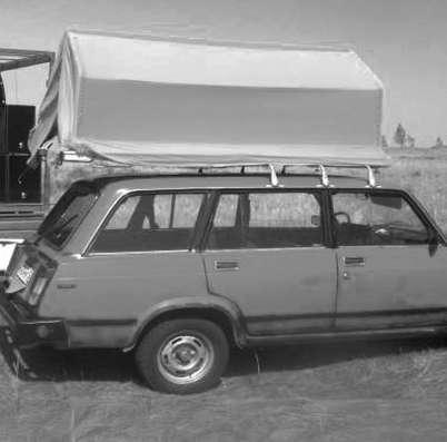 палатка-багажник