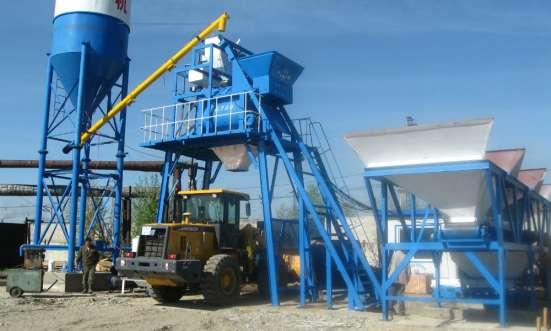 бетонный завод HZS35