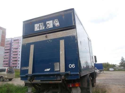 маз5337 термобудка.апарель.31куб 23 палет.2001г в. в Новосибирске Фото 5