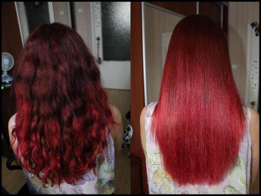 Кератиновое выпрямление волос, ламинирование
