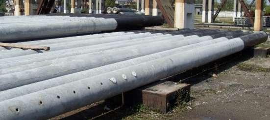 Центрифугированные (трубчатые) стойки для опор ЛЭП в Ставрополе Фото 1
