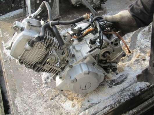 Двигатель YAMAHA SEROW 225