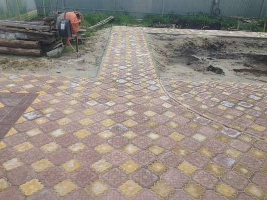 Тротуарная плитка Брусчатка Бордюры в Тюмени Фото 4