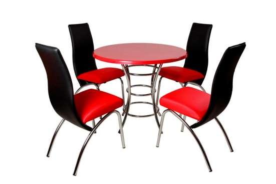 Стол с круглой столешницей С-900