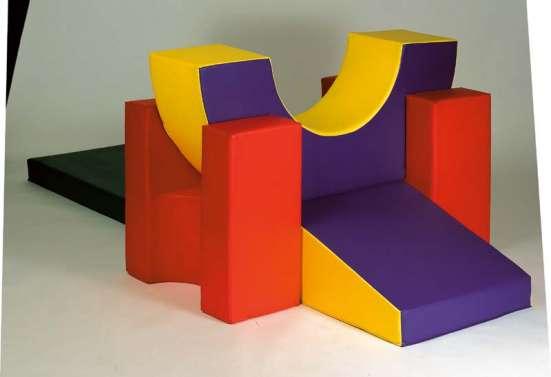 Мягкие игровые наборы, конструкторы для детской комнаты в Краснодаре Фото 4
