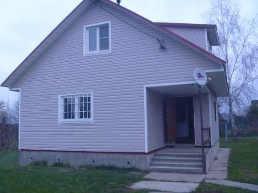 дом 100 кв. м. на участке 1 с д.Бережки