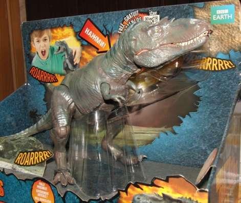 Динозавр Горгона- прогулка с динозаврами 30см, звук, шарнир