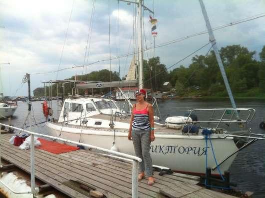 Яхта морская - крейсерский швертбот PEGAZ 969 в г. Самара Фото 3