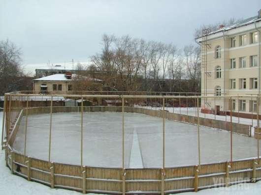 Хоккейная коробка на заказ от производителя. Качественный и в Екатеринбурге Фото 1