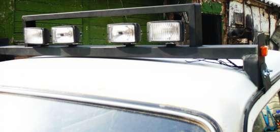 дополнительные фары на крыше Нивы - 213