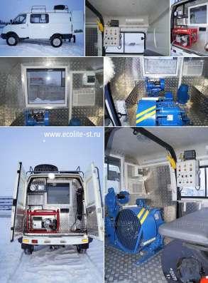 Лаборатория исследования скважин на базе ГАЗ Соболь 27527