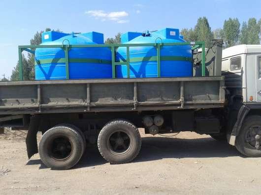 Емкости в каркасе для воды и технологических растворов