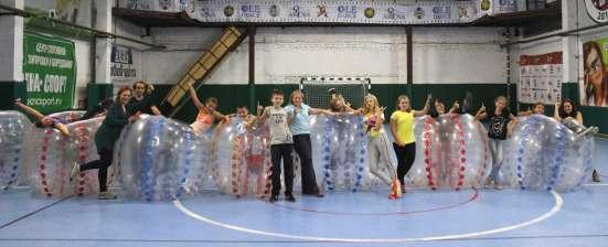 Бампербол Футбол в шарах Корпоратив День рождения в Санкт-Петербурге Фото 1
