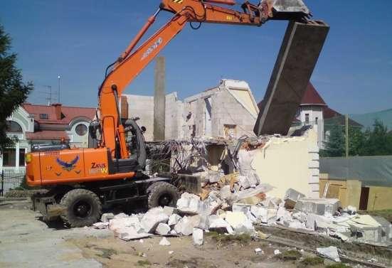 Снос домов дач строений