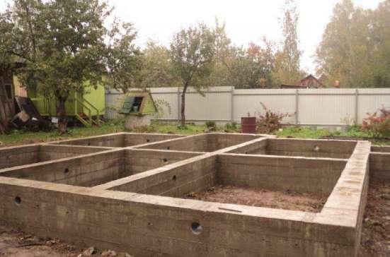 Построим Баню, садовый домик, заливка фундаментов.