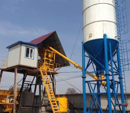 бетонный завод HZS25 в Владивостоке Фото 2