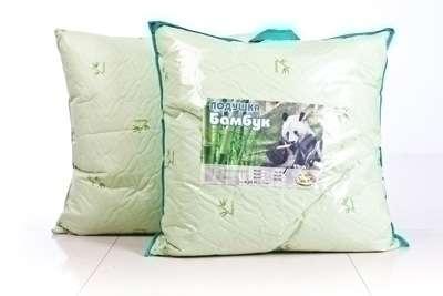 Новая подушка бамбук 70x70