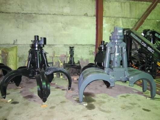 Грейфер для металлолома 600 литров (Италия) с ротатором GR16 в Москве Фото 2