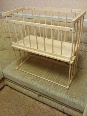 Кроватка приставная детская 0+ в Новосибирске Фото 2