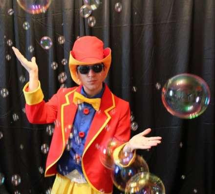 Шоу мыльных пузырей в Новосибирске Фото 4