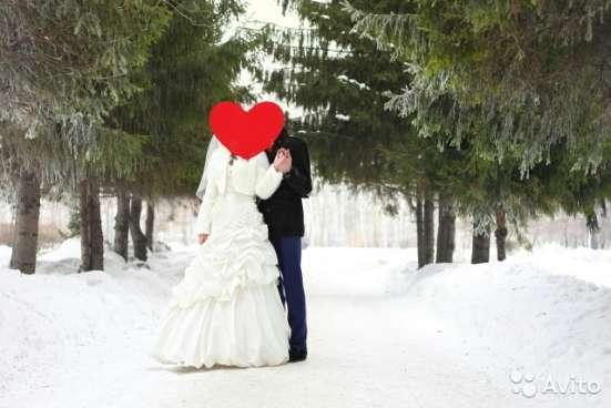 шикарное свадебное платье р-р 44-48