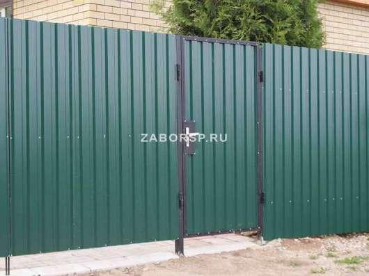 Заборы. Металлические ограждения в Новосибирске Фото 2