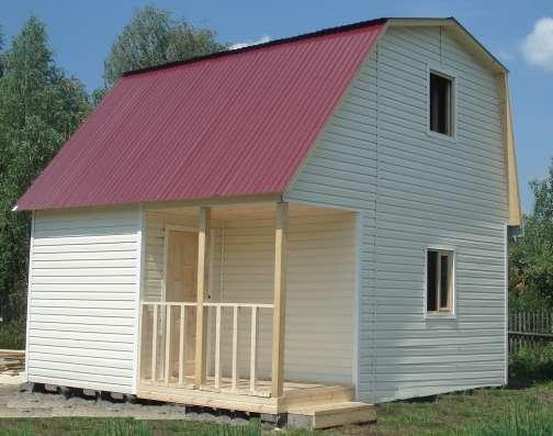 строительство жилых и дачных домов, бань, беседок