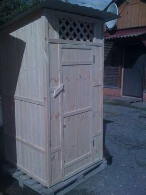 Туалетная кабина дерево - от производителя. Доставка. в Пензе Фото 3