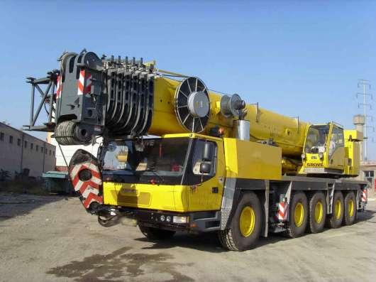 Аренда автокрана 220 тонн 68(106) метров GROVE GMK 5220
