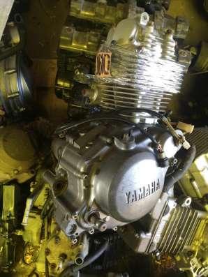Двигатель YAMAHA SERROW 225