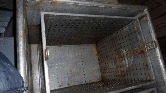 Ванны для посола сыра, объем 4 куб.м.