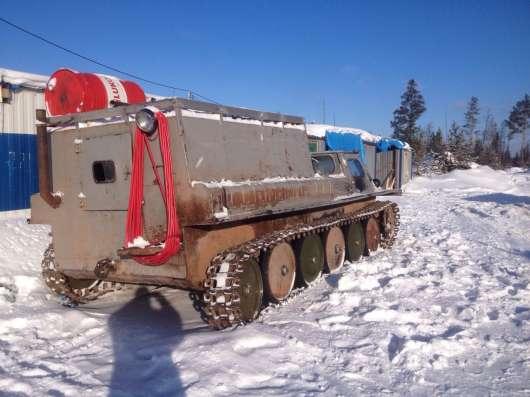 Гусеничный транспортер-ГАЗ-71