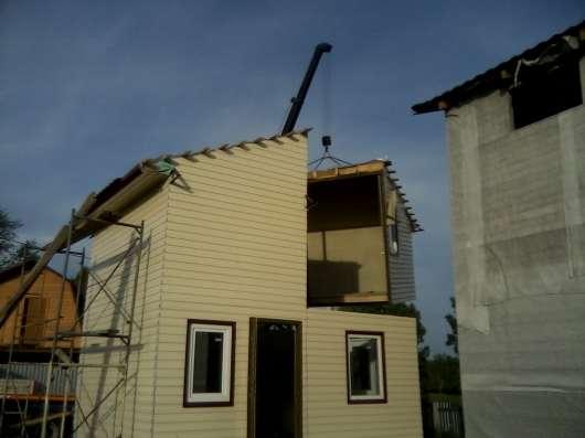 Быстро возводимое, Каркасное и каркас-модульное строительство в Кемерове Фото 3