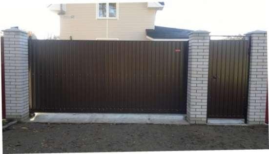 Откатные ворота 4,5*2,0 м