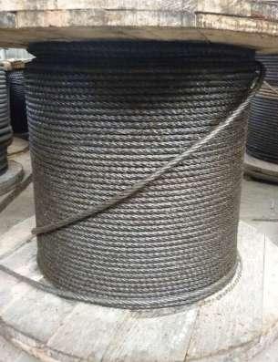 Канат стальной для крана (канат стальной крановый)