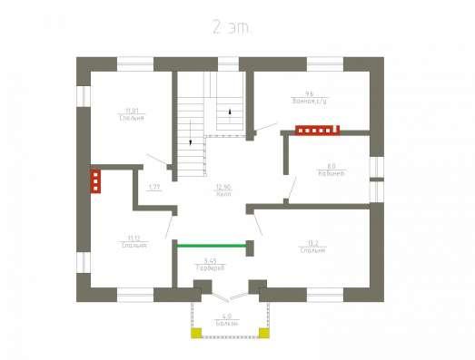 Готовый проект коттеджа 144 кв. м / Артикул М-31 в Перми Фото 2
